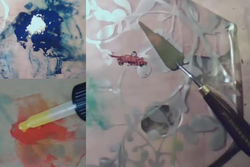 Préparation peinture