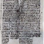 Papyrus V de Leyden