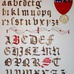 Gothique Textura XIVe siècle