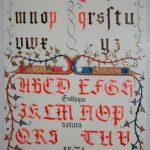 Gothique Textura XVe siècle