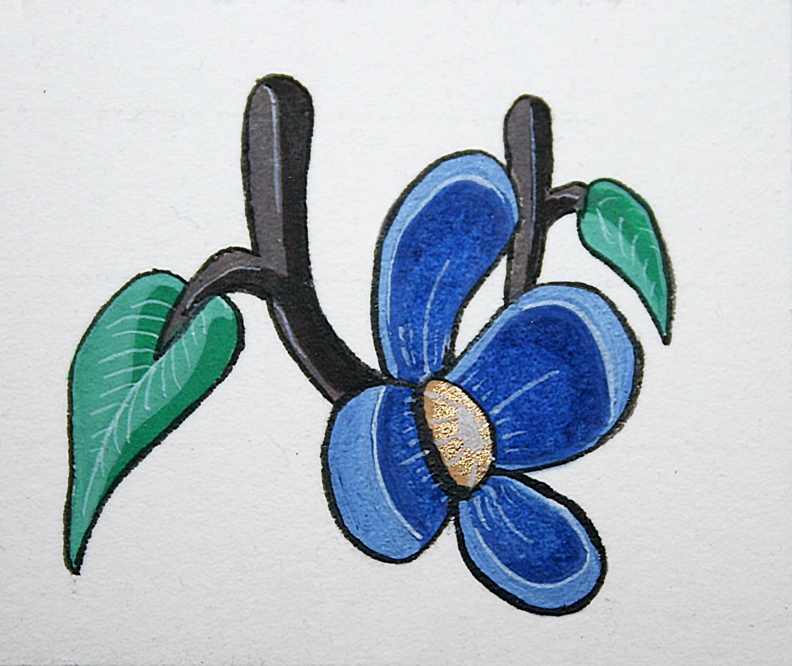 enluminure-fleur